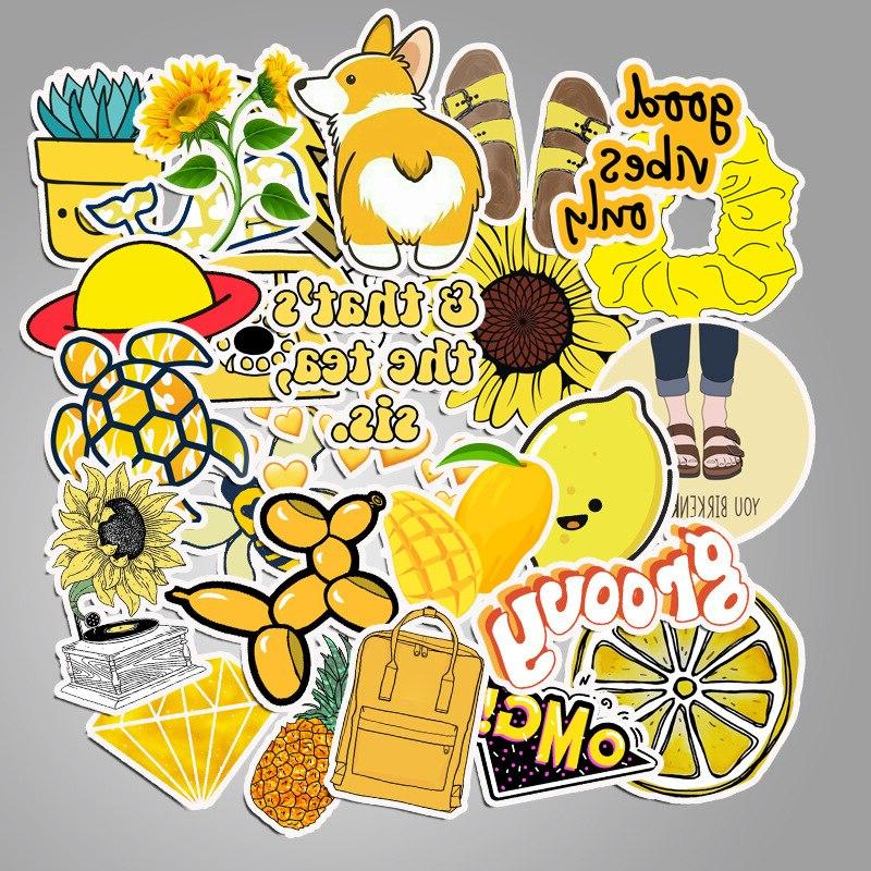 50PCS/lot Cartoon Style vsco <font><b>Stickers</b></font> For Luggage Toy <font><b>Sticker</b></font>