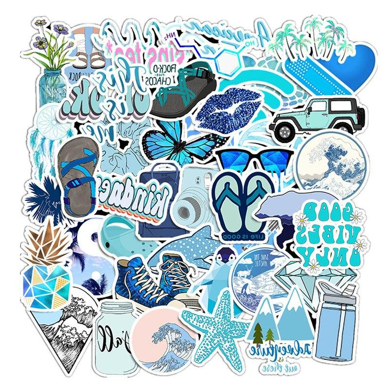 50PCS/lot Cartoon Style Girl <font><b>Stickers</b></font> For <font><b>Laptop</b></font> Luggage Toy <font><b>Sticker</b></font>