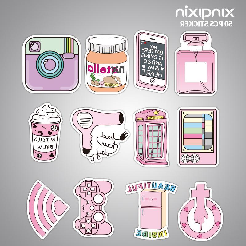 50pcs/pack <font><b>Pink</b></font> Girls Fun toys Moto Car Cool