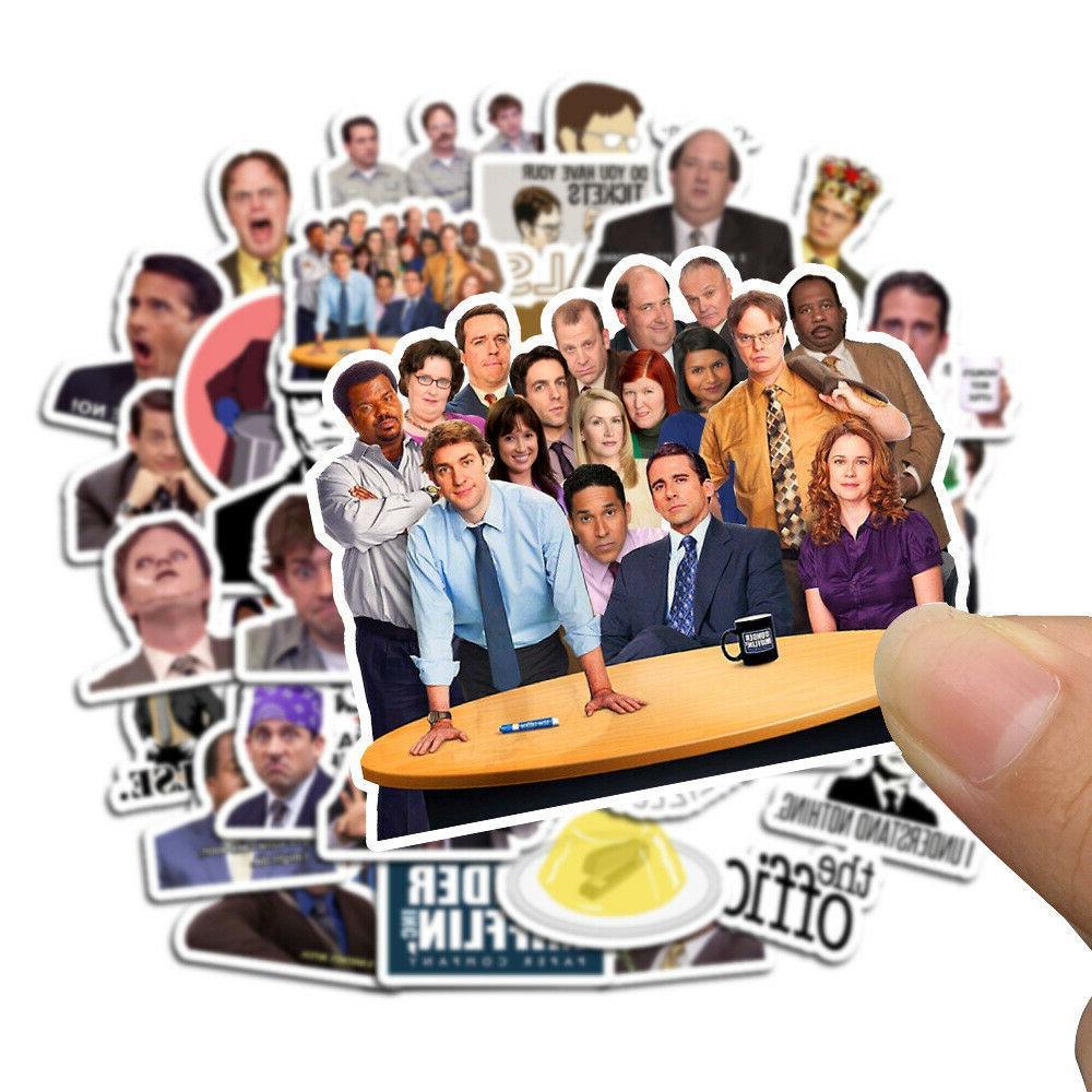 50PCS Office Stickers Decals Dope Sticker