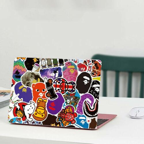 50Pcs Sticker Bomb Luggage A Bathing Decal Pack