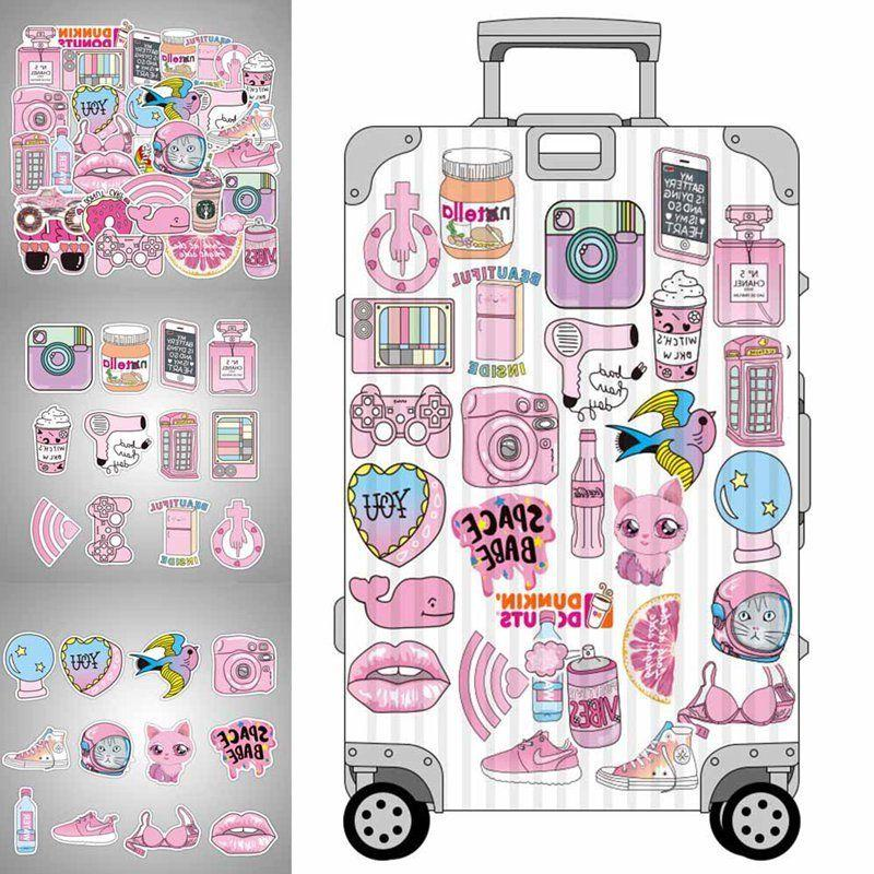 50pcs Pink Fun Toys Car Laptop New