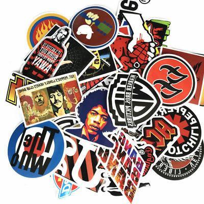 52 stickers lot rock band punk music