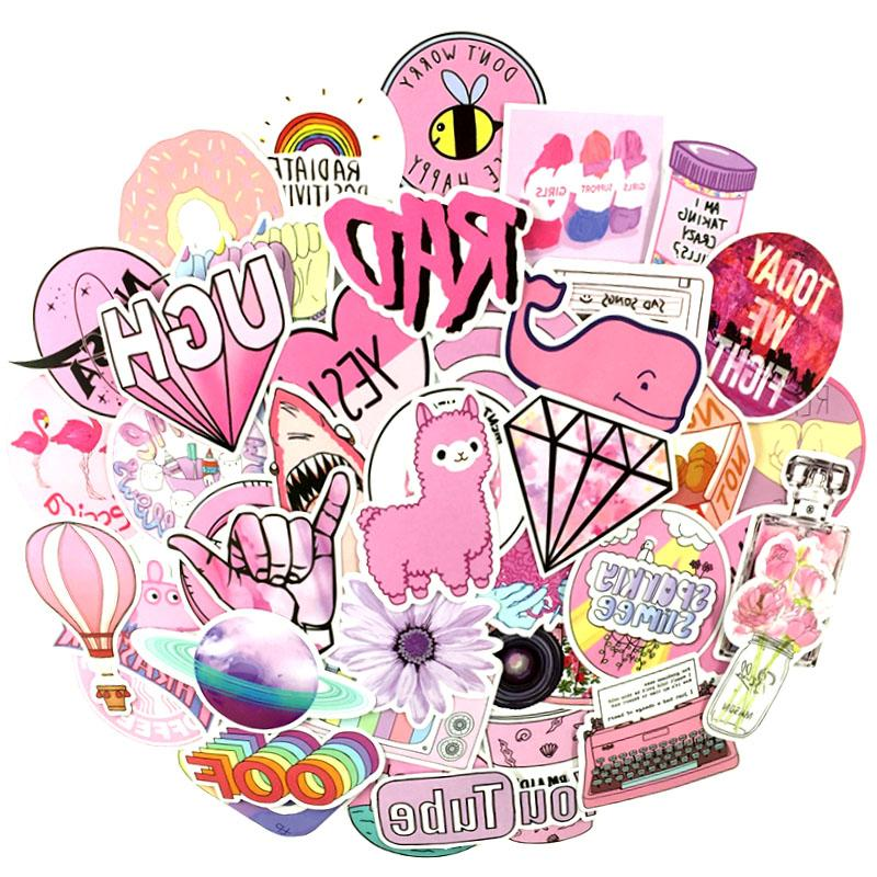 53PCS/lot Style Girl For <font><b>Laptop</b></font> Luggage Toy