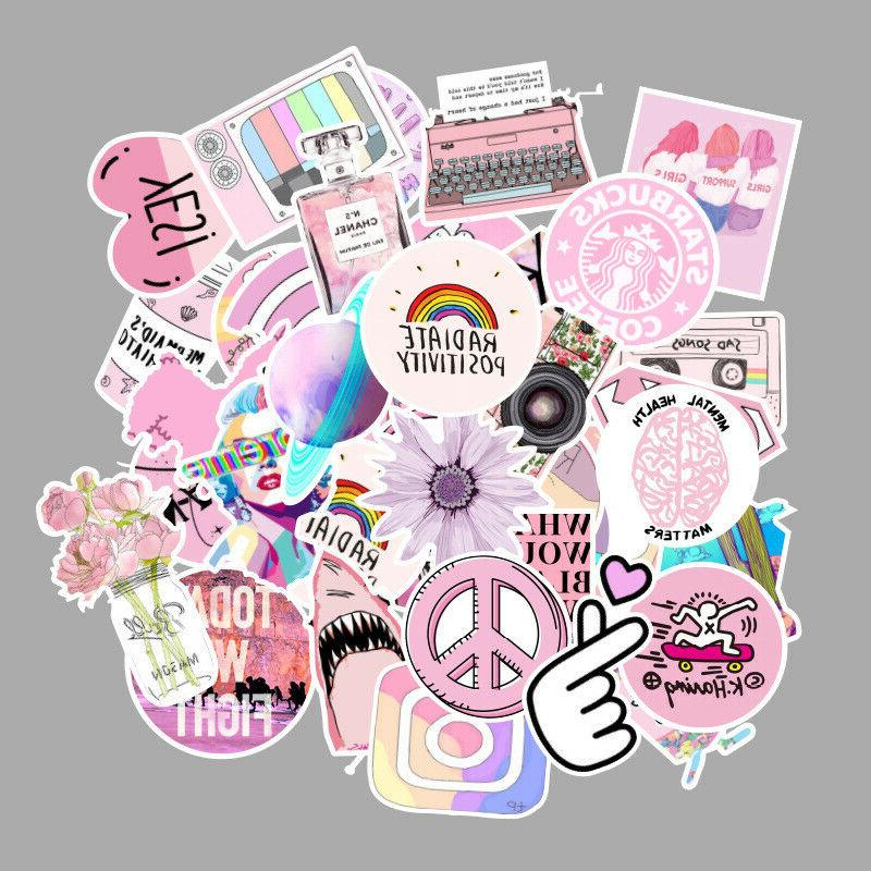 53 Aesthetic Birthday Stickers for Luggage