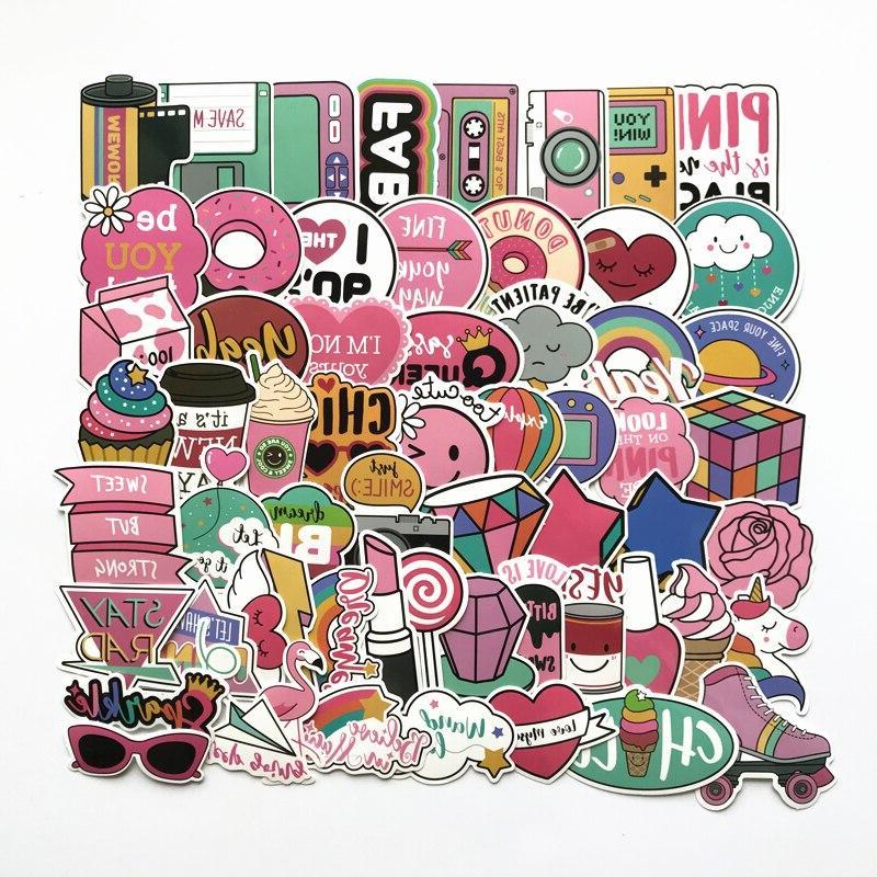 Lovely Cartoon For Snowboard Luggage Car Fridge Car- Styling <font><b>Sticker</b></font>