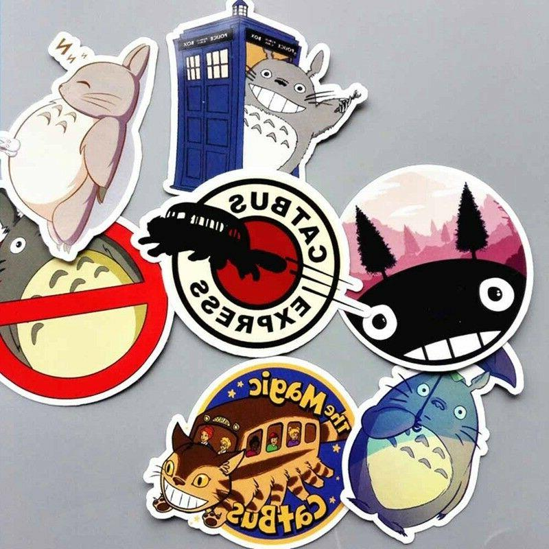 7 Totoro Car Vinyl Decal Funny Truck Window Sticker