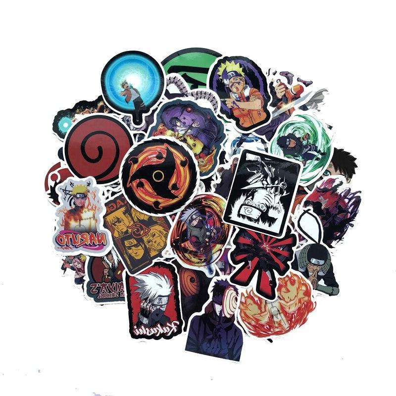 70Pcs/lot japan anime Naruto sasuke <font><b>Laptop</b></font> Fridge Car- Styling Vinyl Home Decor