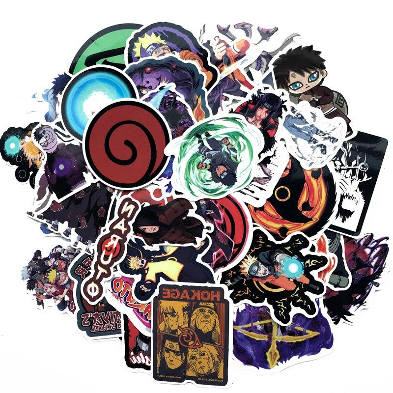70Pcs/lot anime sasuke <font><b>Laptop</b></font> Luggage Car- Styling Decal Home Decor <font><b>Stickers</b></font>