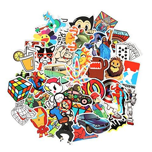 8 Series Stickers Car Sticker Motorcycle Luggage Graffiti Patches Skateboard for Laptop Stickers and Adult