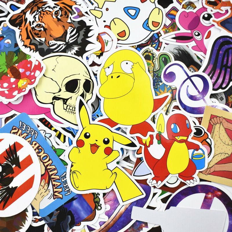 900 pcs Stickers Graffiti Car