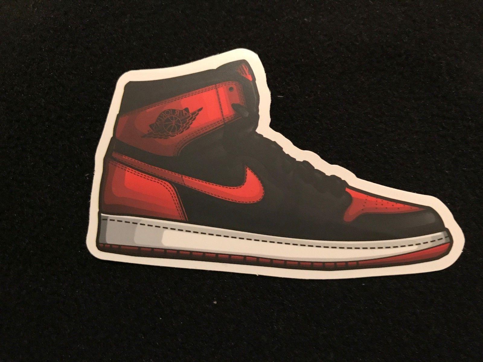 Air Jordan Sticker Car Decal Logo