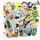 American Drama Rick and Morty Stickers Decal Skateboard Lapt