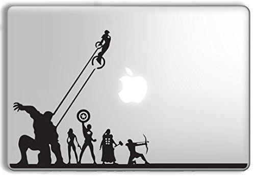 Avengers Superheroes Marvel - Apple Macbook Laptop Vinyl Sti