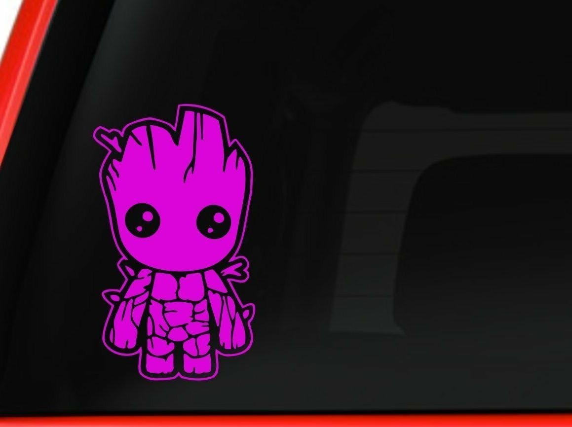 Baby Groot Guardians of the Galaxy Car Truck Laptop decal st
