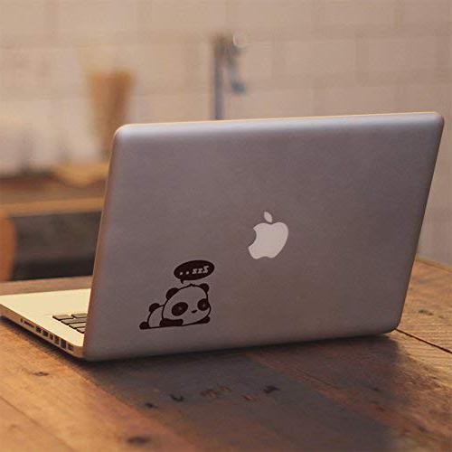 """Cute Sleeping Dreaming Panda - MacBook Air 13"""" MacBook Pro 13"""" 17"""" Vinyl Decal Sticker"""