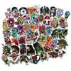 FNGEEN Cool Stickers Pack For Laptop Horror Skull Crazy And