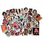 FNGEEN Sexy Women Stickers Pack 50pcs Laptop Bomb Beauty Pin