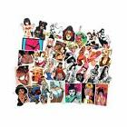 Fngeen Sexy Women Stickers Pack 50Pcs Laptop Stickers Bomb B