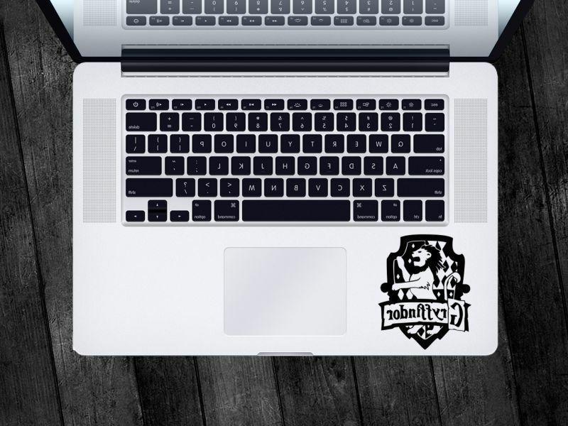 Harry Potter Sticker Gryffindor Crest Decal Apple MacBook iP