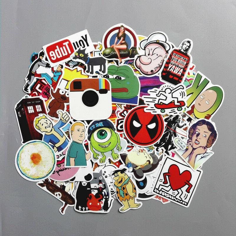 Lot 100 Laptop Luggage Sticker