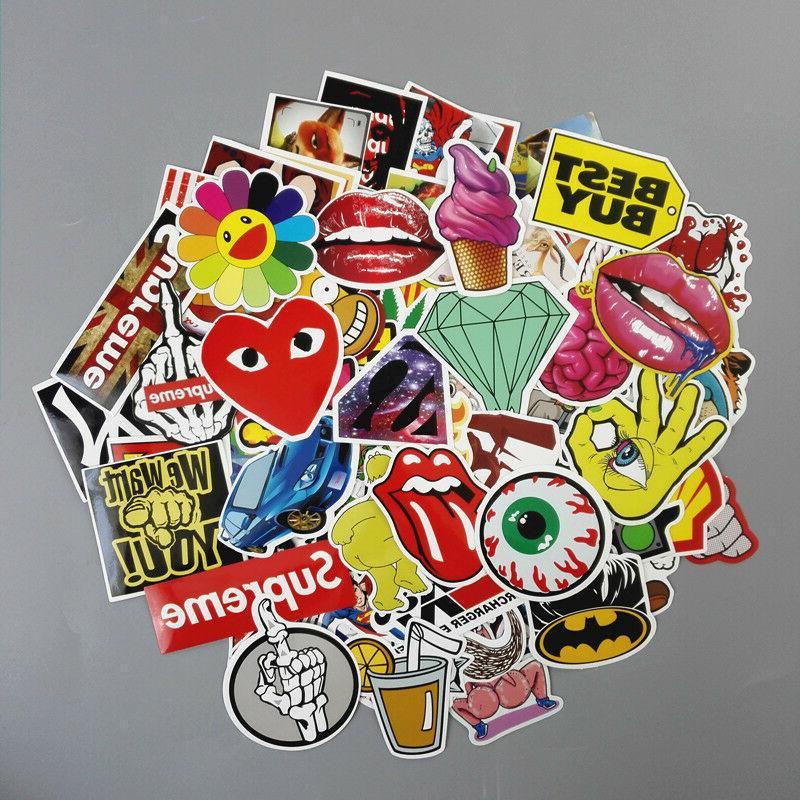 Lot Laptop Skateboard Stickers Luggage Dope