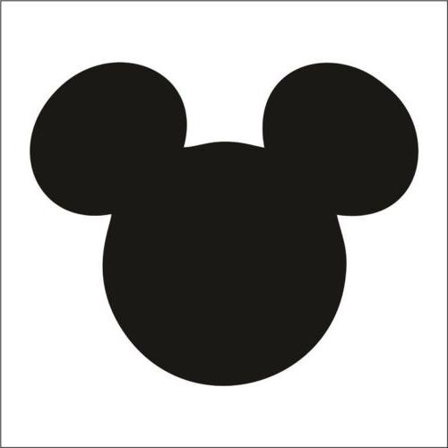Mickey Mouse Sticker / Decal - Choose Color & Size - Disney