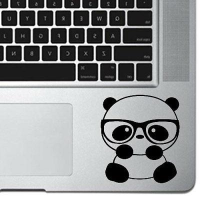 Panda Nerd Decal Sticker for Macbook Air & Pro Laptop Tumble