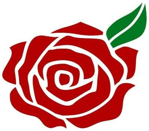 Rose Vinyl Decal Sticker For Walls Laptop Windows Cards Scra