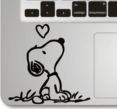 Snoopy Love Humor Keyboard Apple Macbook Laptop Air Pro Deca