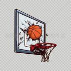 Stickers Decal Basketball Tablet Laptop Durable Sports car 0