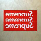 Supreme box logo red sticker vinyl decal skateboard original
