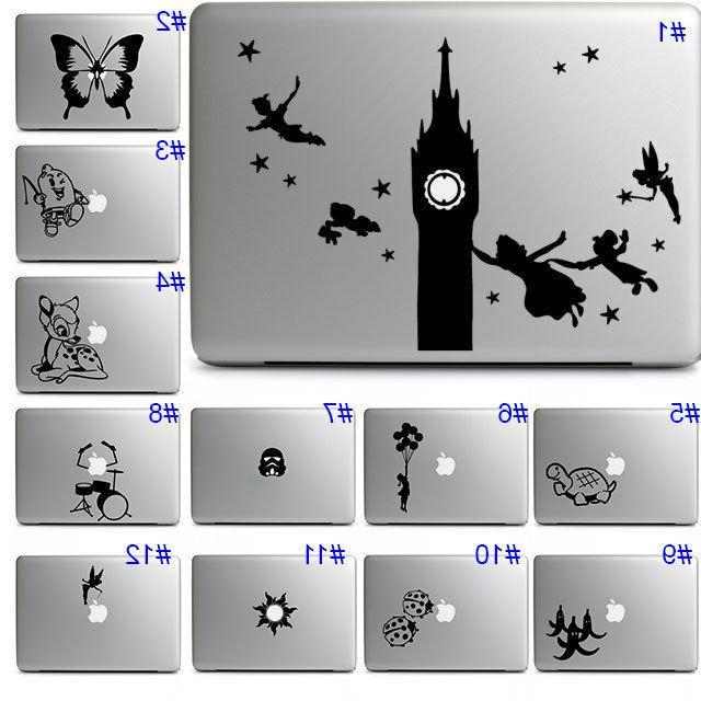 Apple Macbook Laptop Cute Disney Cool Fun Vinyl Sticker Deca