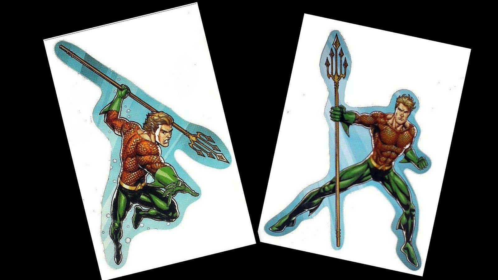 aquaman laptop sticker decal justice league superhero