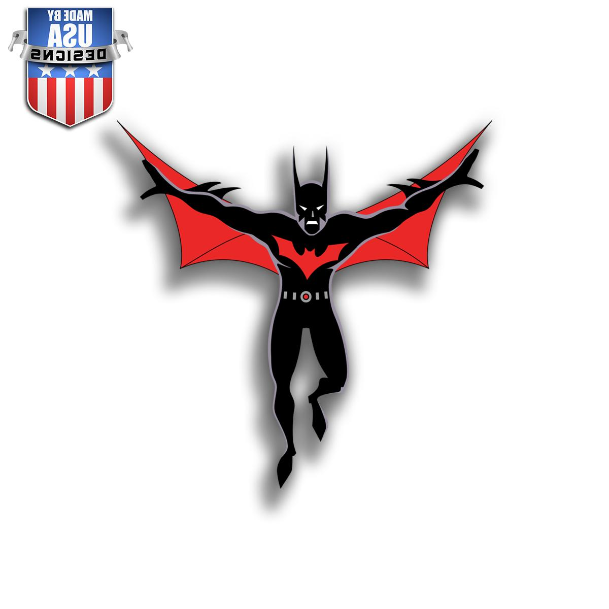 Batman Beyond Sticker Decal Phone Laptop Car Window Art Viny