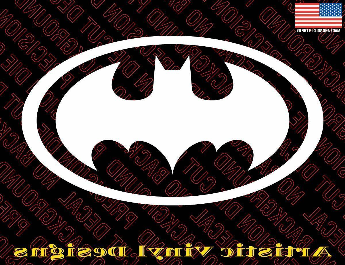 batman symbol vinyl decal sticker auto laptop