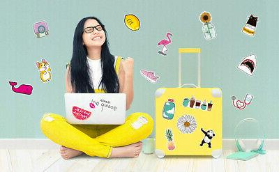 BIG Teen Girl for Suitcase
