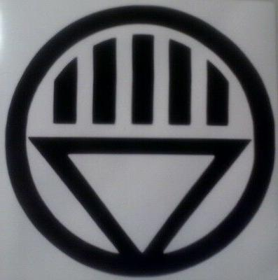 black lantern corps vinyl sticker decal home
