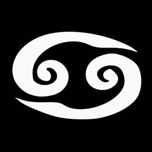 cancer zodiac sign decal vinyl