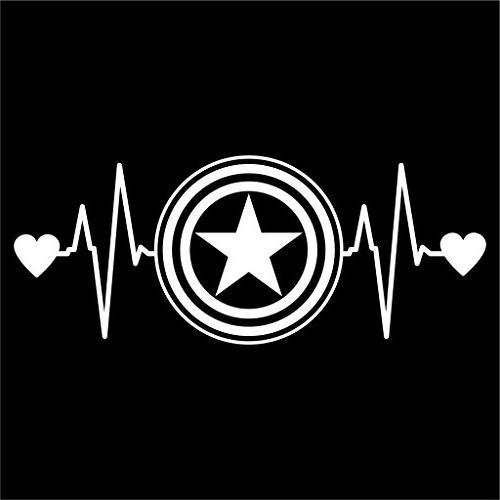 captain america love heartbeat avengers