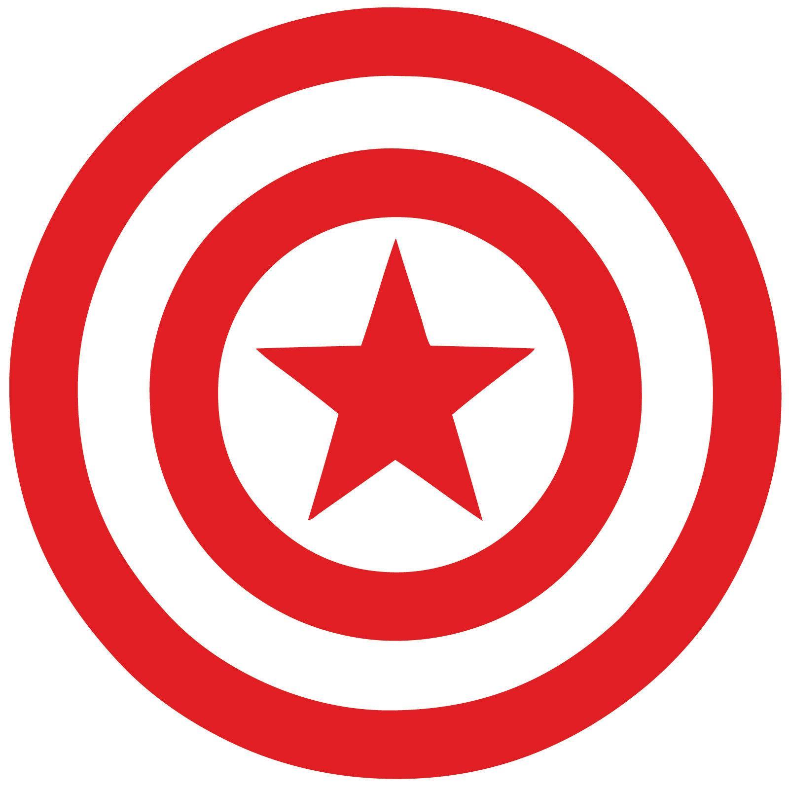 Captain Vinyl Decal Sticker Marvel Avengers Car Window