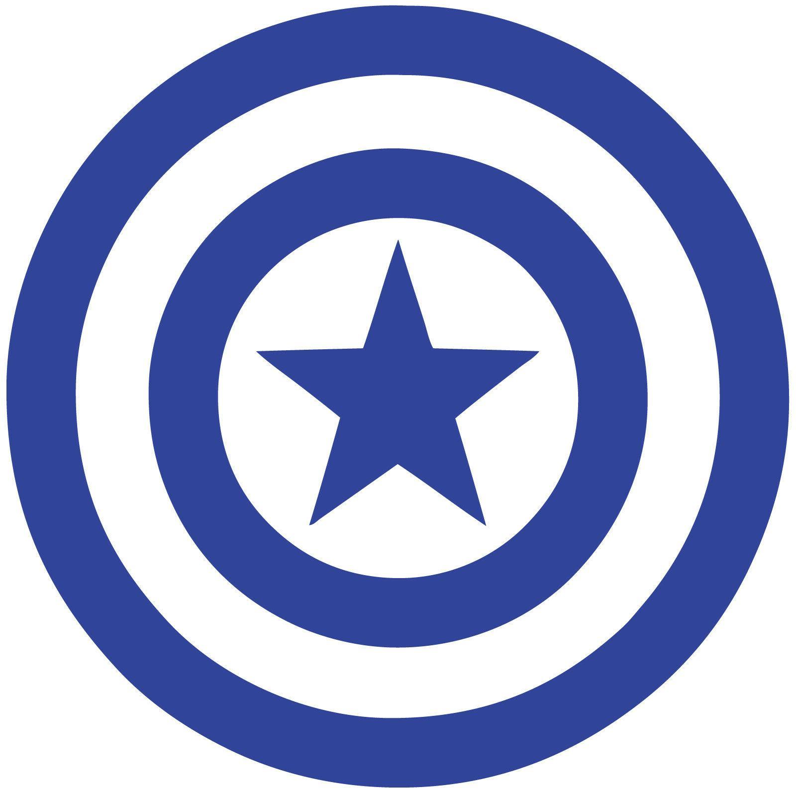 captain america shield vinyl decal sticker marvel