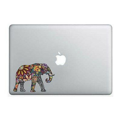 colorful elephant 5 inch apple macbook laptop