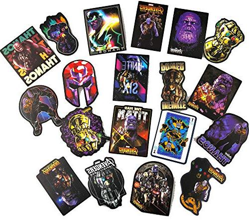 Comic for Skateboarding,Bicycles,Fixed Gear Bikes,Cars,Laptop Thanos Stickers Waterproof
