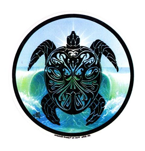 cool hippie turtle decal cars