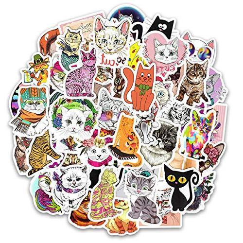 Cute 50-Piece Cartoon Vinyl