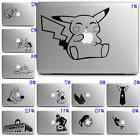 Cute Fun Pokemon Disney Anime Vinyl Sticker Decal Laptop Not