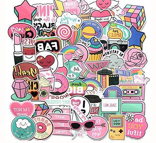 cute girl stickers vinyl lovely