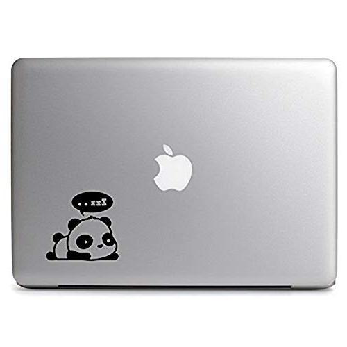 """Cute Panda,Panda Hi,Panda Air 11"""" MacBook Pro 15"""" 17"""" Laptop Vinyl Computer Decal Sticker 3"""
