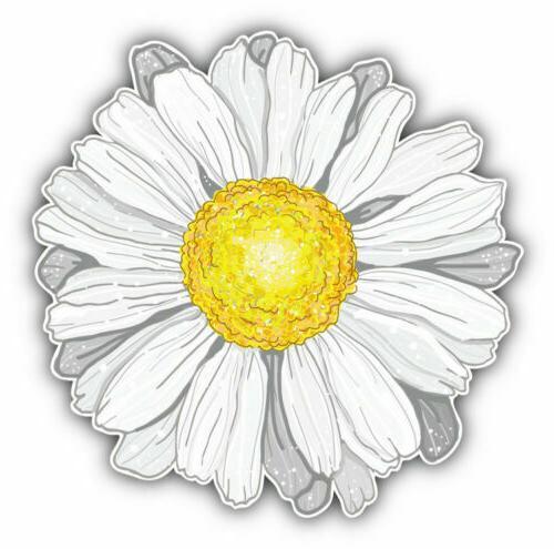 daisy vinyl sticker for laptop luggage tumbler